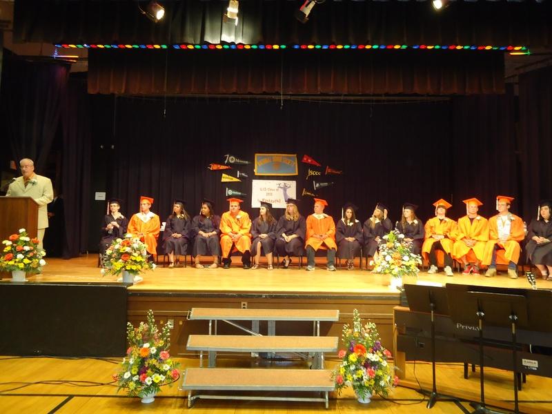 Indian Lake Central graduates 2015